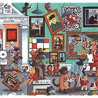 Ceaco 2224-5 爪子和爪子画廊拼图 - 300 片