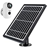 ZUMIMALL 太阳能电池板电源适用于 ZUMIMALL 可充电电池无线*摄像机 A3/A3P