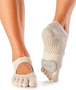 Toesox 全趾 Plie 瑜伽袜,男女通用成人