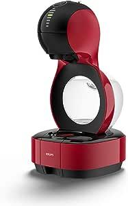 Krups 克鲁伯 Nescafé 雀巢系列 Dolce Gusto Lumio KP1301全自动胶囊咖啡机 适用于冷热饮品/15 bar泵压/自动设置水量/1L 水箱