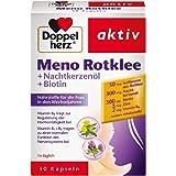 Doppelherz Meno Rotklee 更年期健康调理营养补充剂 含生物素和锌 1 x 30粒