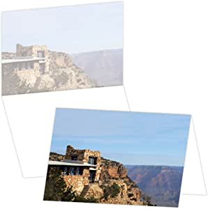 ECOeverywhere Lookout Studio Boxed Card Set, 12 Cards and Envelopes, 4 x 6 Inches, Multicolored (bc14317)