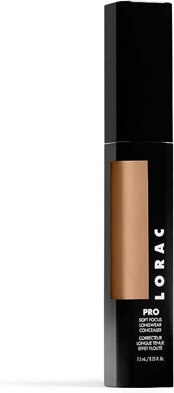 LORAC PRO 柔焦长效遮瑕膏,9.5 - 中号带金色底色,0.25 液体盎司