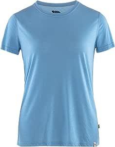 FJALLRAVEN 女式 High Coast Lite T 恤 W 河流蓝 L 码