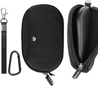 Geekria 收纳盒适用于 B&O Beoplay P2 蓝牙音箱,Bang & Olufsen P2 便携式无线音箱便携包EJB109-01