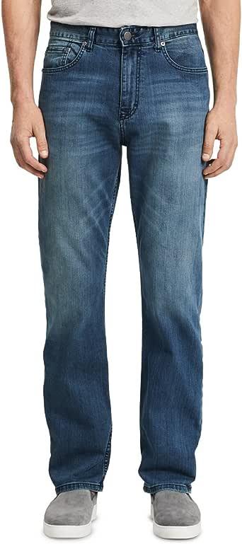 Calvin Klein 卡尔文·克莱恩 男式 休闲直筒牛仔裤, Cove, 38W x 32L