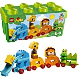 LEGO 乐高 拼插类 玩具 DUPLO 得宝系列 我的创意动物大巡游
