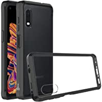 CoverON ClearGuard 系列三星 Galaxy XCover Pro 手机壳A691-CO-SAXCOVER-HY8-BK  Clear with Black Trim