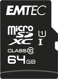 Emtec Microsdxc 64GB Class10 金色 +
