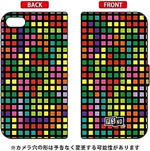 YESNO 手册式智能手机壳 块状 黑色 多色/for iPod touch (*6代) ATC6TH-IJTC-401-N289