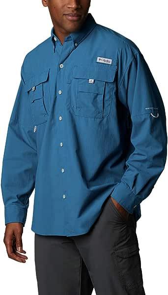 Columbia Men's PFG Bahama II Long Sleeve Shirt - Tall