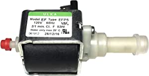ULKA 泵型号 EFP5~120v 60hz 2/1 分钟,52W,适用于 Breville Espresso