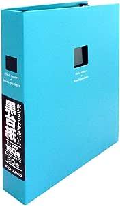 KOKUYO(国誉)文件夹式相册 黑底纸 A5 宽型 L尺寸 160张 黄色 a-NP911NY parent 蓝色