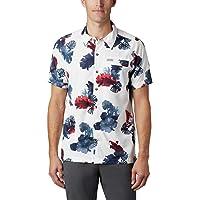 Columbia 哥伦比亚 男士 T 恤户外元素短袖印花 T 恤