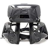 TNE VR 立式耳机显示安装站和控制器支架,适用于蒸汽阀索引虚拟现实游戏系统