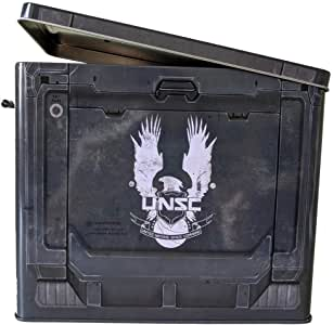 getDigital 14638 光环 5 金属午餐盒 适用于游戏者 | 灵感来自 Xbox Game Anmmo 板房 | 官方*产品