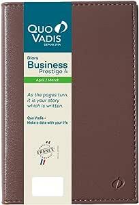 QUO VADIS 2020年 手账 4月开始 商业 舞台4/SOHER Maronglasse qv60105mrg