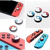 硅胶模拟拇指棒抓握帽摇杆帽盖 适用于 Nintendo Switch NS Joy-Con Controller Sti…