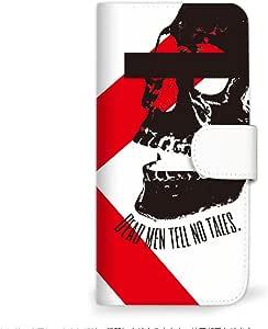 Mitas 智能手机壳 手册式 骷髅 骷髅SC-2335-C/S6-KC  11_Android One S6 (S6-KC) C