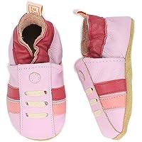 Half YOU Half ME 时尚婴儿和学步男孩/女孩运动鞋 - 舒适且时髦的婴儿网球鞋 - 粉色和蓝色