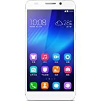 荣耀6 Honor6 TD-LTE/TD-SCDMA/GSM 16G版 移动4G手机(白色)八核4G CAT6手机,5英寸全高清屏,3G内存,3100mAh电池