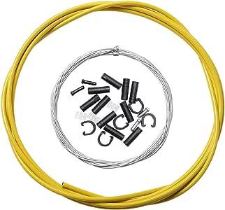 Dymoece 通用自行车移位器电缆外壳自行车变速器电缆软管套件适用于 Shimano Sram MTB 公路自行车