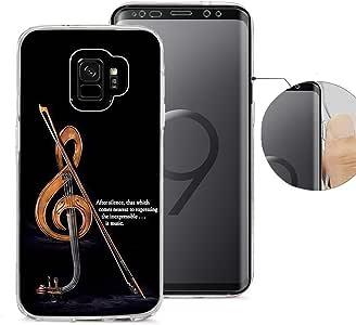 Viwell 兼容三星 S9 手机壳,设计图案手机壳,三星 Galaxy S9 手机壳高强度保护套引言 它意味着不必担忧您的其余几天。 KAA (25)