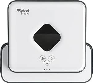 iRobot Braava 390t 扫地机器人 智能导航 干湿2合1,多房间或大面积房间的理想选择,使用一次性可清洗的清洁湿巾,低噪音