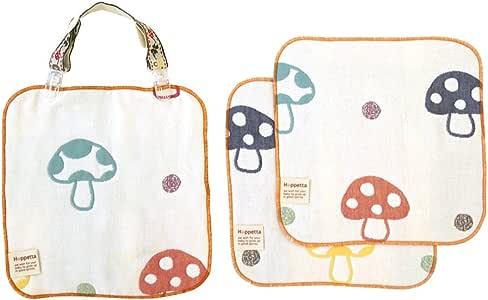 Hoppetta 6层纱布手帕&夹子组合 22x22cm 7212