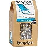 teapigs 柠檬姜茶 125 克(1 件,共 50 个茶包)
