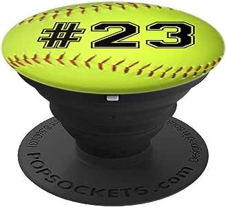 垒球数字 23 垒球260027  黑色