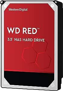 Western Digital 硬盘驱动器 10TB WD Red NAS RAID 3.5英寸 内置硬盘 WD101EFAX-EC