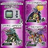 Bandai Premium DIGIMON PENDULUM ver 20 原创银黑色