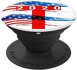 Trump 2020 T – PopSockets 手机和平板电脑握架260027  黑色