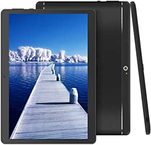 BeyondTab 10 英寸安卓平板带双 SIM 卡插槽 10.1 英寸 IPS 屏幕 4GB RAM 64GB ROM 3G 平板电脑 内置蓝牙 WiFi GPS 平板电脑 (2019 版)