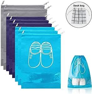 便携式旅行鞋袋 - 旅行时方便的包装系统 - 旅行时方便快速拿取您的鞋子 - 轻便收纳袋 多种颜色 shoe bags-01