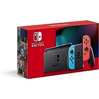 Nintendo 任天堂 Switch 游戲機 掌機 Joy Con(L) 新版更長續航時間 紅藍彩色手柄