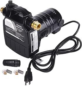 TOPWAY 1/2HP 115V 便携式铸铁电动实用水泵带吸滤器和黄铜连接器