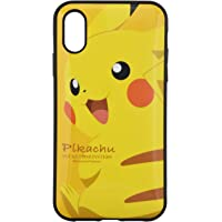 格鲁门迪斯 宠物小精灵 iPhoneXR(6.1英寸) 对应IIIIfit手机壳 皮卡丘 poke-605a