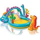 "Intex Dinoland Inflatable Play Center, 131"" X 90"" X 44"", for…"