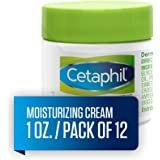 Cetaphil 丝塔芙 保湿霜 适用于干燥/敏感性皮肤,无香料 16 盎司(2 瓶装) 1 Ounce (Pack o…