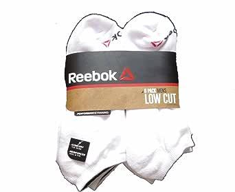 Reebok 6件装男式低帮性能训练短袜