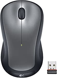 logitech 罗技 M310无线鼠标(银色 激光无线鼠标)