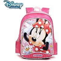 Disney迪士尼 米妮儿童双肩减负书包 小学生书包 SM11038 (枚红色)