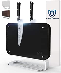 Dalstrong - 磁性刀片墙 - 紧凑型刀储物和展示架 - 洋槐木 - 14.5 x 11.7 Vader 黑色
