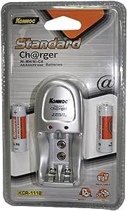 Konnoc kcr1112 – 充电器 + (2 x AA 2500 mAh)
