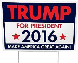 Imagine This Trump for President Yd 标志 - 100 只装