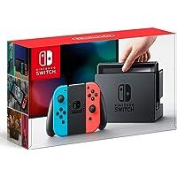 任天堂 Nintendo Switch主机 【Joy-Con (L)霓虹蓝/ (R)霓虹红】