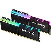 G.SKILL TridentZ RGB 系列 32GB (2 x 16GB) 288 针 DDR4 SDRAM DDR4 3200 (PC4 25600) 台式机内存型号 F4-3200C14D-32GTZR