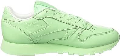 Reebok 女式 CL lthr pastels 运动鞋